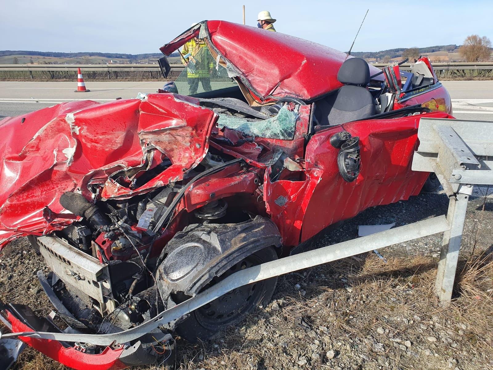 Verkehrsunfall A92